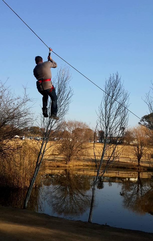 TreeTop Adventures Zip Line 1